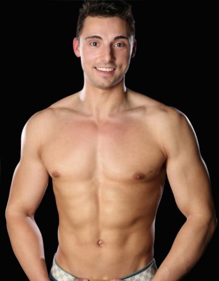 Cedrick naked